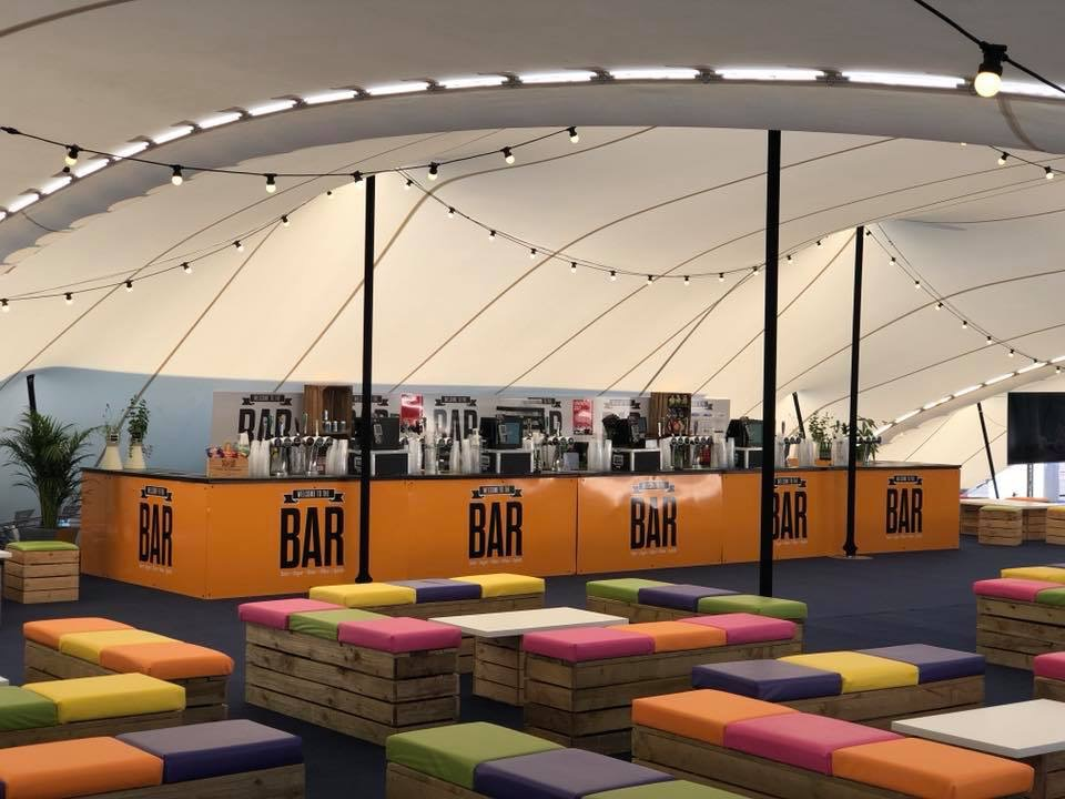 Silverstone Marquee bar